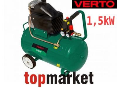 Kompresor olejowy sprężarka 24 litry Verto 73K002