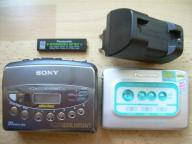 Walkman SONY WM-FX473, Panasonic RQ-SX32, Zasilacz