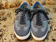 Wrangler buty męskie kolor jeans niebieski 44 10