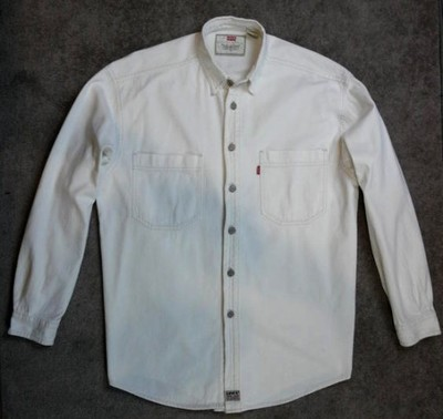biała męska koszula LEVIS - M