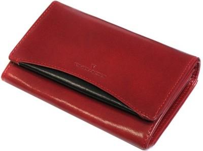 1c7edd37b4a9f Czerwona damska portmonetka portfel VIP Collection - 4741718986 ...