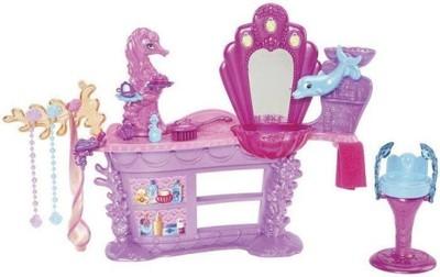 Barbie Magiczne Perły Salon Fryzjerski Syrenki 6564266493