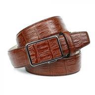 Anthoni Crown Men's A37K20 Belt, Braun (Cognac 020