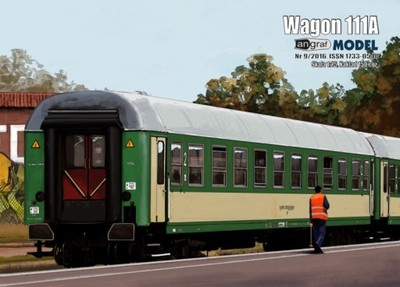 Wagon 111A 1:25 Angraf Model
