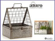 Szklarenka do ziół, kwietnik Aluro Bertoni