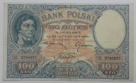 100 zł 1919 Piękny Stan zachowania