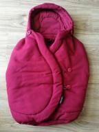 Maxi cosi śpiworek śpiwór pebble robin red idealny