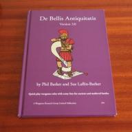 De Bellis Antiquitatis 3.0 Phil Barker DBA ZASADY