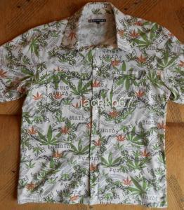 Koszula House hawajska ganja konopie rozmiar L 5393556340  W7EFV