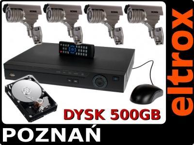 dd1b28edeb3b5d TANI ZESTAW MONITORING SKLEPU DOMU BIURA FIRM Z382 - 2565591981 ...