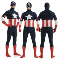 UNISEX Kostium Captain America The Avengers XL 42