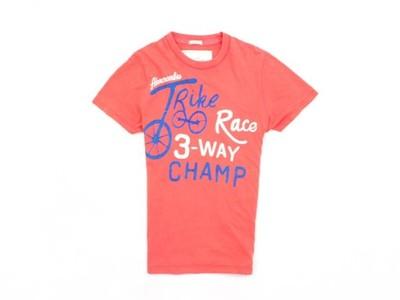B Abercrombie Fitch T-shirt Męski Bawełna roz L