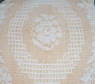 Obrus szydełkowy roz.120 x75 OWAL