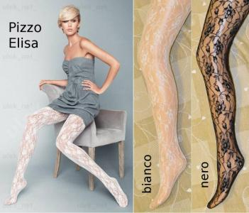 c3b961b060d6ce moda Veneziana rajstopy koronkowe Pizzo Elisa 3 M - 5669527578 ...