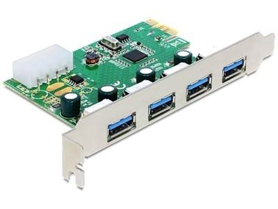 Karta PCI Express -> USB 3.0 4-port NEC Low