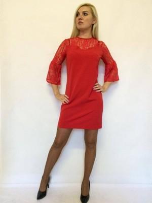 Sukienka z koronką - INGROSSO - WYPRZEDAŻ!! 36S