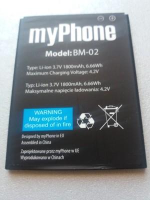 Bateria MyPhone Cube BM-02 oryginalna 1800mAh
