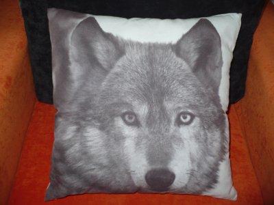 Poduszka Dekoracyjna Wolf 43x43 Z Leroy Merlin 6197278392