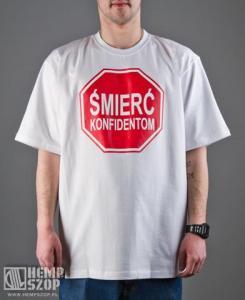 b1809fb58 T-shirt Diil Śmierć Konfidentom Biały DTS27 XXXL - 5275213174 ...