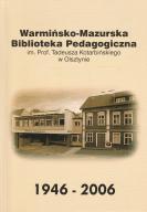WARMIŃSKO-MAZURSKA BIBLIOTEKA PEDAGOGICZNA 1946-06
