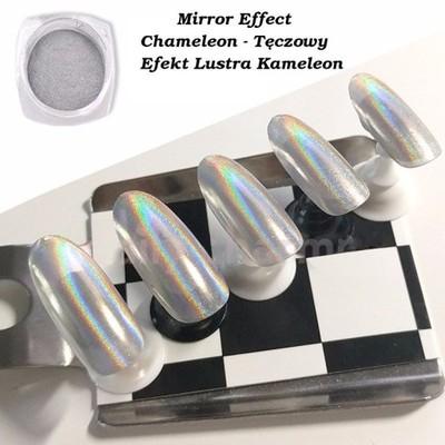 Mirror Effect Chameleon Kameleon Teczowe Lustro 6525666981 Oficjalne Archiwum Allegro