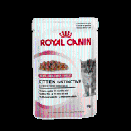 ROYAL CANIN KITTEN INSTINCTIVE 85g w galaretce.
