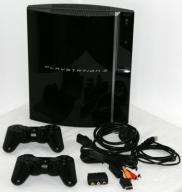 SONY PS3 PLAYSTATION 3 CLASSIC -- 500GB -- 2 PADY