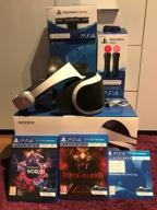 Playstation VR + Camera v2 + 2x Move + 2 GRY !!!