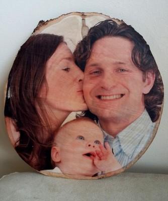 Twoje zdjęcie fotografia na plaster drewna 20cm