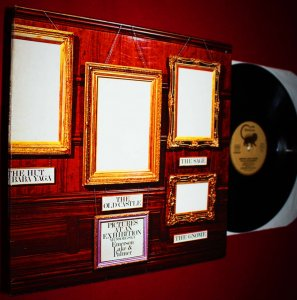 EMERSON LAKE AND PALMER-PICTURES AT AN EXHIBITION