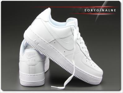Buty damskie Nike Air Force 1 Low 314192 117 Białe Zdjęcie