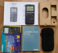 Kalkulator graficzny CASIO ALGEBRA fx 2.0 instr PL