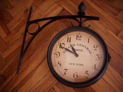 Zegar ścienny Przedpokój Stylizowany Dworcowy