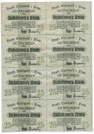 Stargard notgeldy 1920 arkusz 8 szt. st.2