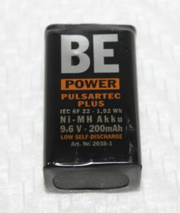 AKUMULATOR NiMH BLOKOWY 9V PP3 200 mAh Be Power