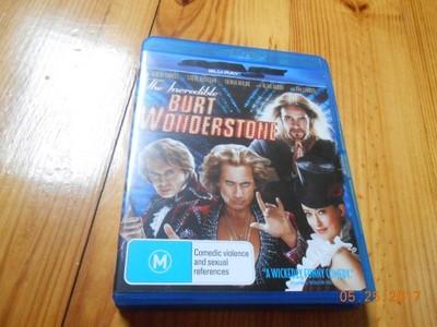 BURT WONDERSTONE - BLU RAY