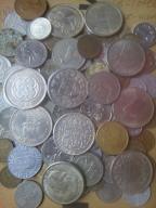 Monety ze starej szafy dużo wykopki.