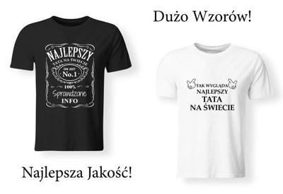 Koszulka Idealny Prezent Na Dzien Ojca Taty Nadruk 6848438726 Oficjalne Archiwum Allegro