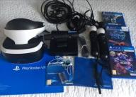 SONY PLAYSTATION VR PSVR PS4 2 X MOVE KAMERA +3gry