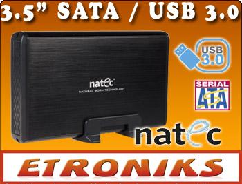 """SOLIDNA OBUDOWA DO DYSKU 3,5"""" z USB 3.0 SATA"""