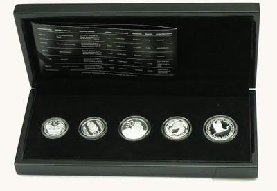 Nowa Zelandia, Set srebrnych monet 2011