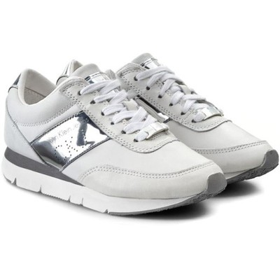 Buty Calvin Klein Jeans Re9087 Sneakersy Biale 35 6884350355 Oficjalne Archiwum Allegro