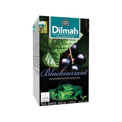 Herbata Czarn DILMAH Blackcurrant Czarna Porzeczka