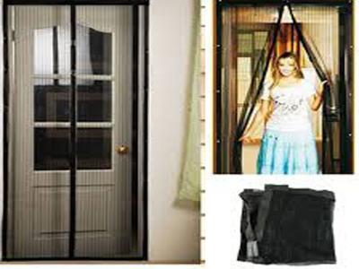 Moskitiera Na Drzwi Z Magnesem Siatka Balkon Okno