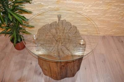 Kawowy Stolik Z Pnia Drzewa Olejowanie Pieniek 6742253320