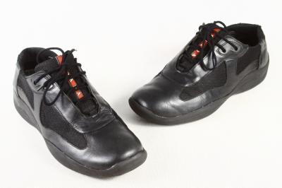6dd5bea9c18b0 buty adidasy męskie sportowe PRADA skórzane 40/41 - 4294665816 ...