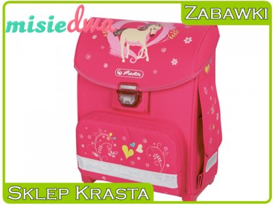 a75e862da05f9 HERLITZ Smart Konik jednorożec różowy tornister - 6266206480 ...