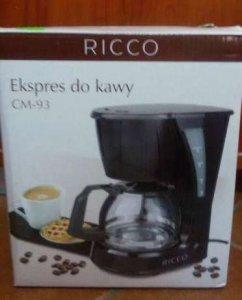 Nowość EKSPRES do kawy RICCO CM-93 *** NOWY - 6409897683 - oficjalne GC04