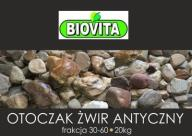 Kamień dekoracyjny otoczak ANTYCZNY 30-60mm BIOVIT