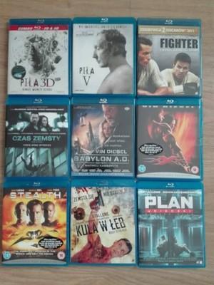 8 FILMÓW BLU-RAY + GRATIS